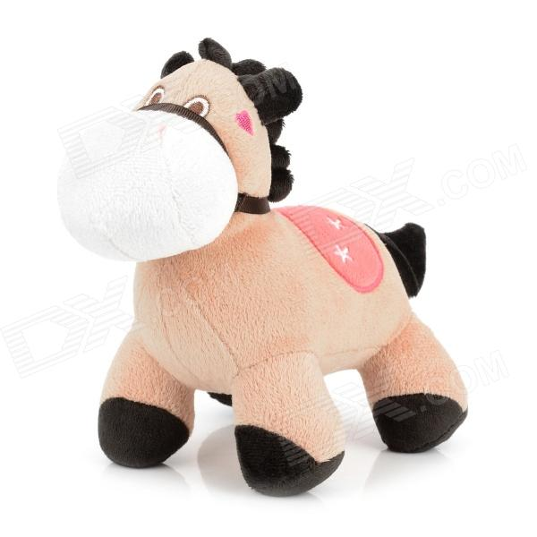 cute-horse-style-lifelike-short-plush-doll-toy-brown