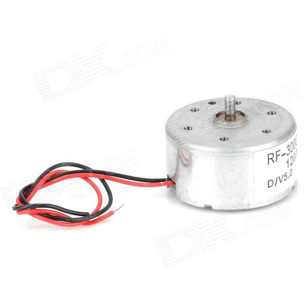 DIY Part Solar Panel Drive Mute Motor - Silver + White fast shipping starting motor 12v qd138g diesel engine starter motor a suit for chinese brand