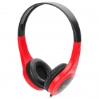 Ditmo DM-4600 Headband Stereo Headphone w/ 3.5mm Plug - Red + Black