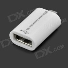 Micro USB OTG Converter + Card Reader Camera Connection Kit for Samsung - White (2 PCS)