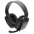 Ditmo DM-3800 Fashion USB Headband Stereo Headphone - Black