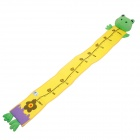 Lokyee Cartoon Frog Style Plush Height Measuring Ruler for Kids - Multicolored