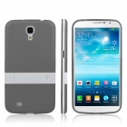 ENKAY Protective TPU Back Case w/ Stand for Samsung Galaxy Mega 6.3 i9200 / i9208 - Grey