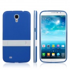 ENKAY Protective TPU Back Case w/ Stand for Samsung Galaxy Mega 6.3 i9200 / i9208 - Blue