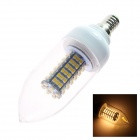 GCD S7 E14 4.615W 213.5lm 2913K 138-SMD 3528 LED Warm White Light Lamp Bulb - White (220~240V)