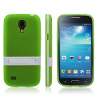 Buy ENKAY Protective Soft TPU Back Case Stand Samsung Galaxy S4 Mini / i9190 - Green