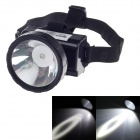 KangMing KM-167 Rechargeable 1W 90lm LED White Light Headlamp for Hunt / Camp + More - Black