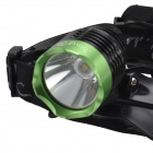 SingFire SF-522B 800lm 3-Mode Cool White Headlamp - Black + Green (2 x 18650)