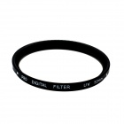 SOYOU S001_52 Ultra-Violet UV Camera Lens Filter Lens Filter - Black + Transparent (52mm)