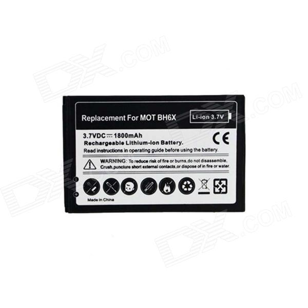 Rechargeable 1800mAh 3.7V Li-ion Battery for Motorola BH6X