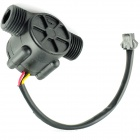YF-S201 Hall Effect Water Flow Counter / Sensor - Black (DC 5~24V)