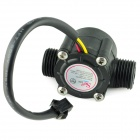 YF-S201 DIY Hall Effect Water Flow Counter / Sensor - Black (DC 5~24V)