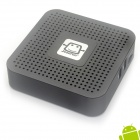 Jesurun Q5 Android 4.0 Google TV Media Player IPTV w/ 1GB RAM, 8GB ROM, HDMI, AV - Black (EU Plug)