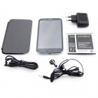 "N9599T MTK6589 Quad-Core 4.2.1 Android Phone WCDMA Bar w / 5,7 ""HD, ROM de 8GB, Wi-Fi et GPS - gris"