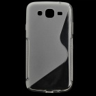 "Protective Plastic Case for Samsung i9150 / 5.8"" Cellphone - Translucent White"