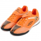 Tiebao 1220 Indoor Football Soccer Shoes - Orange + Black (Size 44)