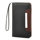 "Protective PU Leather Flip-Open Case for Samsung i9152, i9200, Galaxy Mega 5.8""~6.0"" Phones - Black"
