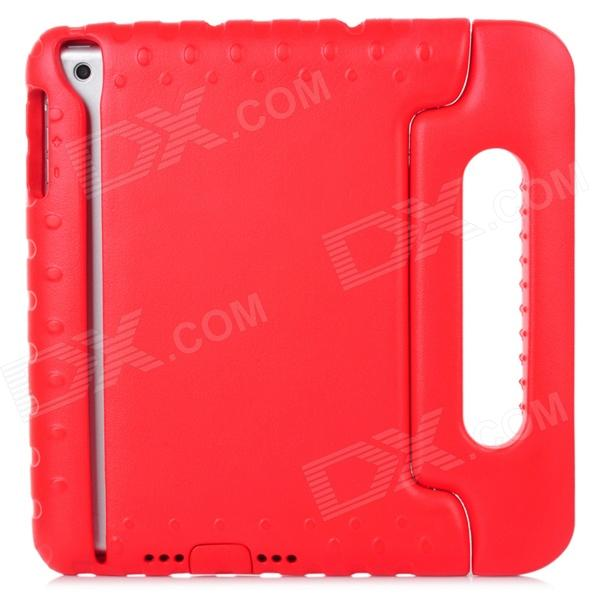 Protective Soft Plastic Cover Case w/ Carry Handle for Ipad MINI - Red + Black soft neoprene protective pouch case for ipad 9 7 tablets black