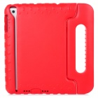 Protective Soft Plastic Cover Case w/ Carry Handle for Ipad MINI - Red + Black