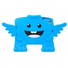 Cute 3D Angel Style Plastic Cover Case for Ipad MINI - Blue + Black
