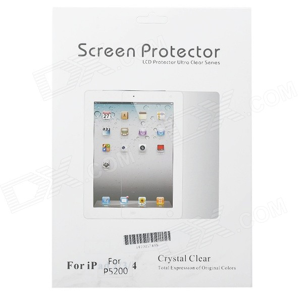 Protective Matte Screen Guard for Samsung Galaxy TAB 3/P5200/P5210 - Transparent