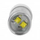 J0505 Universal 20W 600lm 6500K T20 White Light Head Lamp w/ CREE XBD R3 for Car - Silver + White