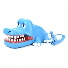 South Sunny AR-5056 Creative Crocodile Style Telephone - Blue