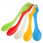 Ryder Outdoor Camping Dual-Head Forks & Spoons Tableware (5 PCS)