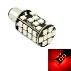 exLED 06050039 1157 8W 640lm 635~700nm 40-SMD 5050 LED Red Light Car Brake Light - (12V)