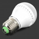 E27 3W 240lm 6400K 9-SMD 3520 Cold White Light Lamp Bulb