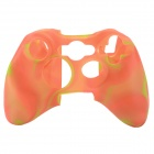 Protective Silicone Case for Xbox 360 Controller - Red + Yellow