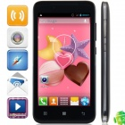 M Pai MP-s720 Dual Core MTK6572 Android 4.2.2 WCDMA Bar Phone w/ 4.5' Capacitive, FM and GPS - Black