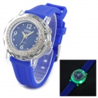 SKMEI 0995C Fashionable Woman's Quartz Analogue Wrist Watch - Blue (1 x CR2025 / 1 x SR626)