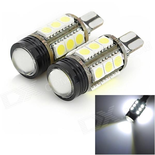 exLED 06050041 T15 4.5W 400lm 15 x SMD 5050 LED + 1-LED White Light Car Backup light - (12V / Pair) 2pcs brand new high quality superb error free 5050 smd 360 degrees led backup reverse light bulbs t15 for jeep grand cherokee