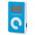 "KD-MP3-11-DAIPING-LANSE 1.1"" LCD MP3 Player w/ TF / Mini USB / 3.5mm Jack - White + Black + Blue"