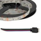 Waterproof 72W 4300lm 300-5050 SMD LED RGB Light Flexible Strip w/ 44-Key Controller (5m / DC 12V)