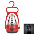 YAGE YG-3352 30-LED White Rechargeable Camping Light - Red + Black + Transparent