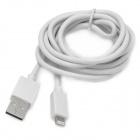 USB to 8-Pin Lightning Data/Charging Cable for iPhone 5 - White