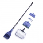 AS-53 5-in-1 Aquarium Cleaning Set - Black