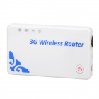 F10 Portable 150Mbps 3G Wireless Router Supports Virtual Server / VPN / PING - White + Blue