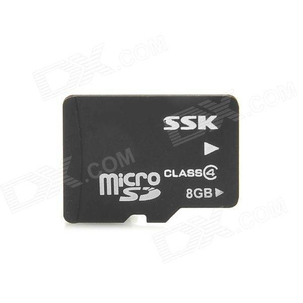 SSK Class 4 Micro SDHC / TF Card (8GB) other tamehome 2015 1 4 hifi