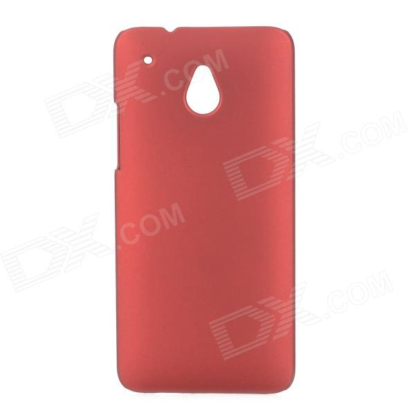 Protective ABS Matte Varnishing Back Case for HTC ONE Mini / M4 - Wine Red protective plastic back case for htc one mini m4 pink