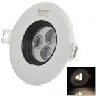 Cnlight CNTQ0404WW 4W 200lm 3500K LED Warm White Decken-Scheinwerfer - Weiß