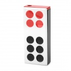 Pai Gow Tile Style Creative Gas Lighter - Black + Beige + Red
