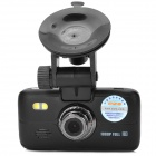 "HWZ K2000 1080P 2.5"" TFT 1.3MP CMOS Car DVR Camcorder w/ 2-LED Night Vision - Black"