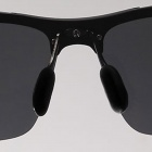 Reedoon 2206 Fashionable UV400 Protection Polarized Aviator Sunglasses - Black