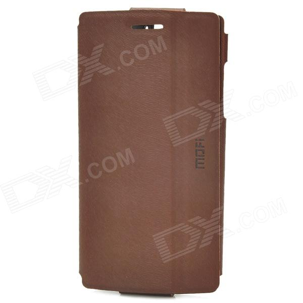 все цены на MOFI MP014 Protective PU Case w/ Stand for OPPO Find5 / X909 - Brown онлайн