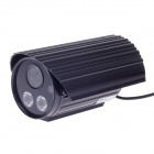 "Paisan PS-699CF 1/3"" CCD 600TVL 60' Wide Angle PAL Surveillance Security Camera w/ 2-IR LED - Black"