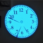 Dice Design LED Projection Clock - Black + Silver