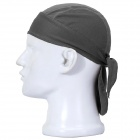 Qinglonglin Men's Stylish Quick Dry Fabric Cycling Cap - Deep Gray